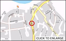 Click to see the location map for this holiday accommodation in Newquay